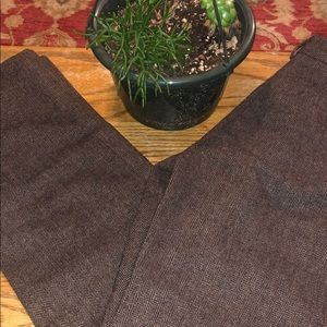 Women's Banana Republic Brown Herringbone Trousers